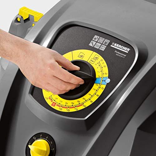 Kärcher Heißw. - Hochdruck. HDS 8/18-4 CX Hochdruckreiniger, grau/schwarz - 4