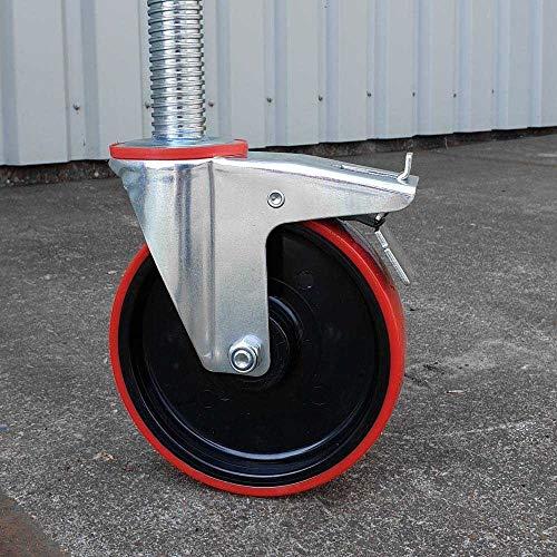 Rolsteiger Basic 135x250 4,2m werkhoogte carbon vloer