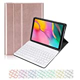 Samsung Galaxy Tab S5E 10.5 2019 Keyboard Leather Case, 7 Color...