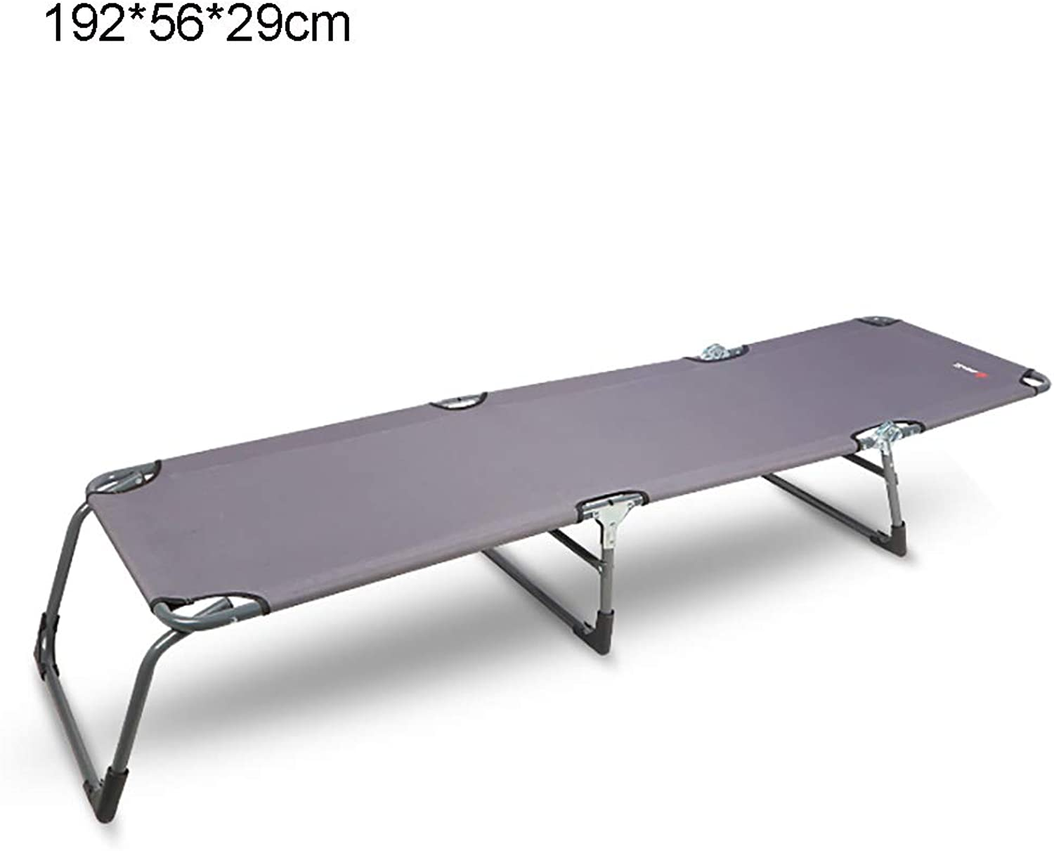 Simple Steel Frame Folding Bed Beach Bed Pool Bed(192  56  29cm)