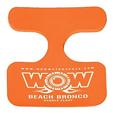 WOW World of Watersports, 14-2120 Beach Bronco Floating Pool Seat, Saddle Float, Orange