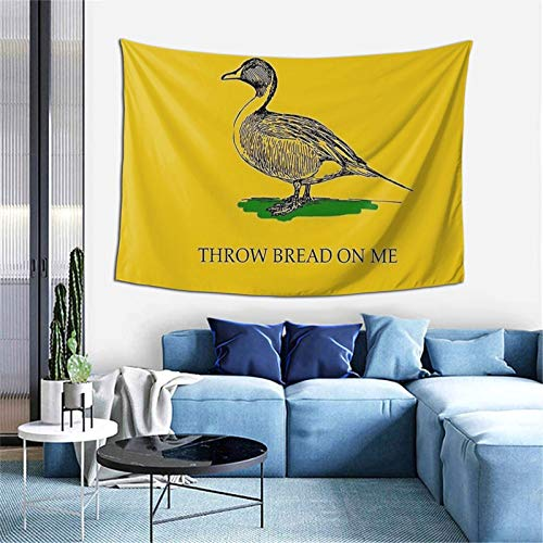 OptiCase Qinegnly Multifunctional Wall-Mounted Tapestry Throw Bread ON ME Used for Bedroom Living Room Dormitory Art Wall Hanging