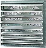 """""""CUT COOLING COSTS: Reduce expensive cooling bills at home. Ready to install, our wall-mounted automatic shutter vent fan is designed to help keep your living space cooler and more comfortable year-round."""" """"MULTIPURPOSE: Perfect cooling and ventilati..."""
