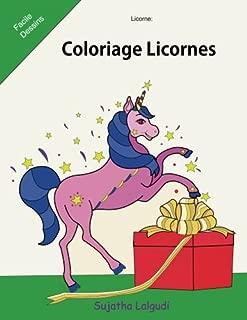 Licorne: Coloriage Licornes: Le petit livre de coloriage, Licornes, Livre de coloriage pour enfants et adulte, Le Monde Magique de Noël, coloriage ... Facile Dessins) (Volume 17) (French Edition)