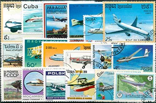 50 stks/partij17 topic stempel collectie alle verschillende vele landen GEEN herhaal postzegels ongebruikte gemarkeerd voor verzamelen, vliegtuig