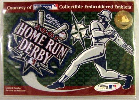 2001 Home Run Derby Souvenir Patch