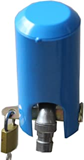 Insulated Garden Hose and casing Lock and Cover - Water Saving, Outdoor Faucet Locking System - Prevents Unauthorized use and Vandalism, and is Easy to Install