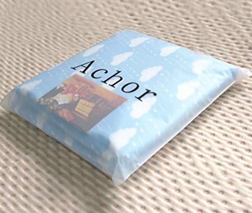 ACHOR おむつ替えシート 2枚組 おむつ替えマット ベビー用 おでかけ防水シーツ 携帯便利 通気性 抗菌 消臭 衛生 吸水速い 50 × 70cm 雲や柄 ブルー, 2枚