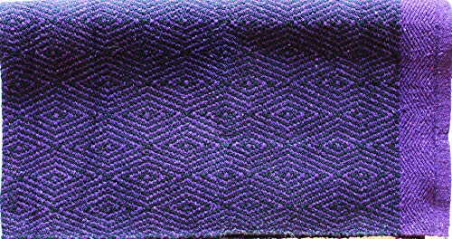 CHALLENGER Cotton Blend Western Show Trail Horse Saddle Blanket Double Weave 32
