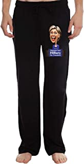 Anyone but Hillary for President Men's Sweatpants Lightweight Jog Sports Casual Trousers Running Training Pants