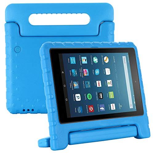 Kavon - Custodia per Kindle Fire HD8/HD8 Plus 2020 8 pollici, in EVA leggera a prova di urto, con manico convertibile, per tablet da 8 pollici blu