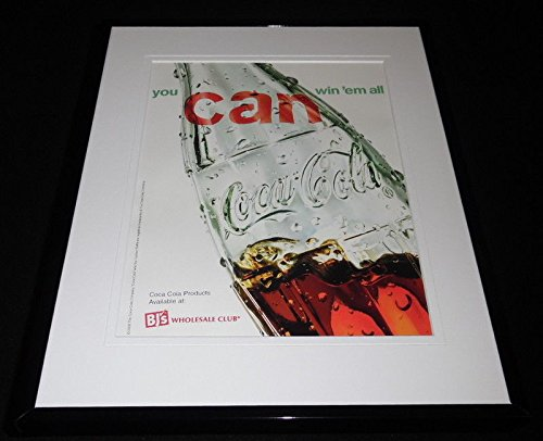 2007 Coca Cola/BJ's Wholesale Club 11x14 Framed ORIGINAL Advertisement