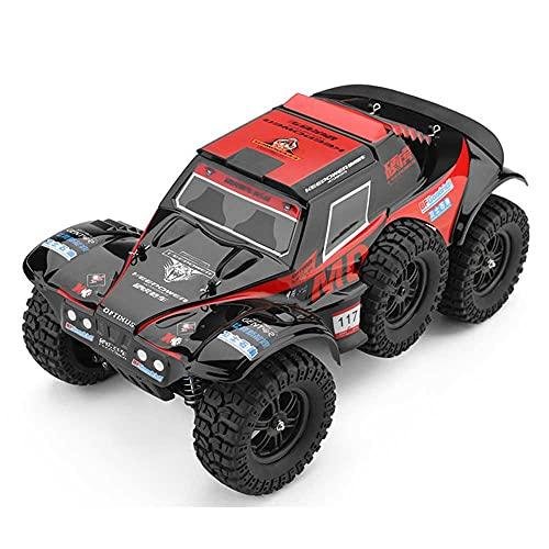 Weaston Camión Corto de Rally a Escala 1:12, 4WD, 60 km/h, Coche eléctrico RC de Alta Velocidad, Control Remoto para Todo Terreno de 2,4 GHz, Distancia de 100 Metros de vehículo RC, cumpleaños