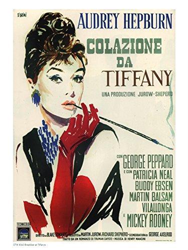onthewall Colazione da Tiffany 1950Poster