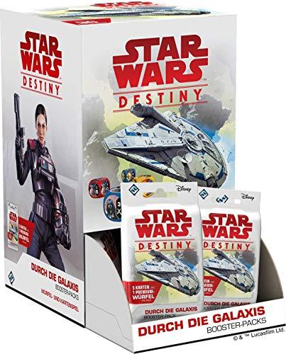 Fantasy Flight Games Star Wars: Destiny - Durch Die Galaxis Booster (Display) - Deutsch