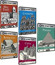 David Macaulay 5 DVD Collection (Roman City, Cathedral, Mill Times, Castle, Pyramid)