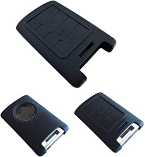 iJDMTOY Soft Silicone Remote Smart Key Holder Fob for Cadillac Escalade ATS CTS DTS XTS SRX or Chevy C7 Corvette, etc