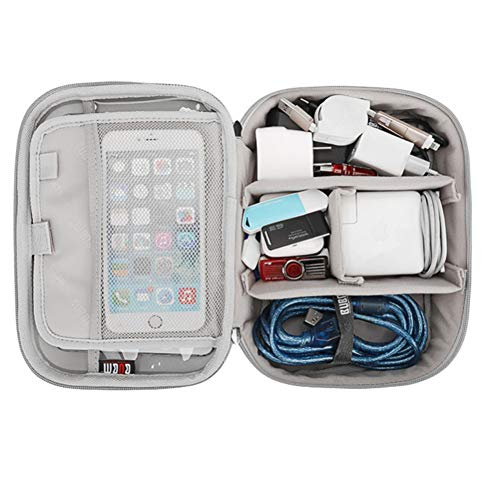Hard Shell Carrying Case Fits Game Cards and Wall Charger - Includes Removable Accessories Pouch and Extra Large Stylus
