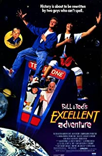 Bill and Ted's Excellent Adventure Poster Movie 11x17 Keanu Reeves Alex Winter George Carlin