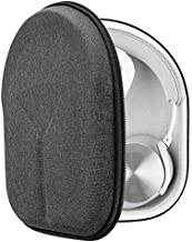 Geekria UltraShell Case Compatible with Bang & ÔLUFSEN Beoplay H9i, H95, H9, H8, H8i, H6, H4 Headphones, Replacement Protective Hard Shell Travel Carrying Bag with Room for Accessories (Dark Grey)