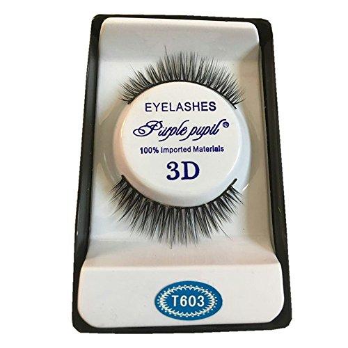 Vovotrade 3D Soft 10 Paires Longue Maquillage Croix Gros Fils Cils Cils Précis (10 Paires)