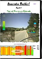 Anaerobic Training! Part 1 Tour of Evergreen Colorado. Virtual Indoor Cycling Training / Spinning Fitness and Workout