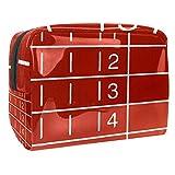 Neceser de Viaje Parque Infantil Red Runway Neceser Maquillaje Nolsas de Aseo Cosméticos Organizador Accesorios de Baño Viajes de Negocios Vacaciones 18.5x7.5x13cm