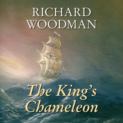 The King's Chameleon audiobook cover art