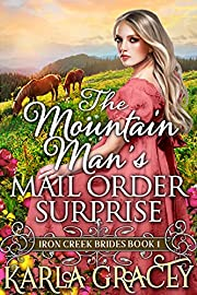 The Mountain Man's Mail-Order Surprise: Inspirational Western Mail Order Bride Romance (Iron Creek Brides Book 1)