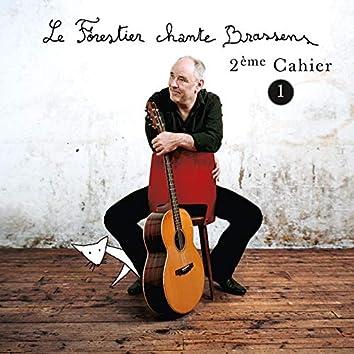 Le Forestier chante Brassens Cahier 2 - Vol 1