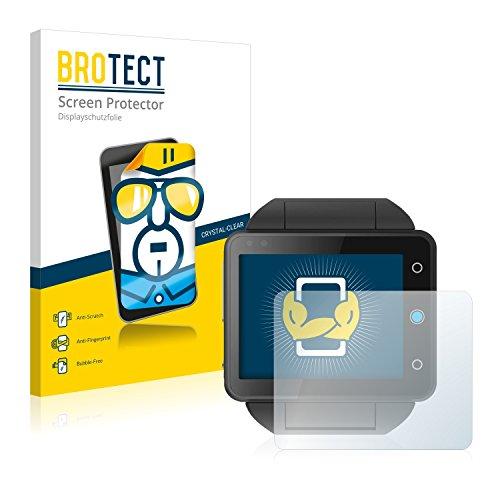 BROTECT Schutzfolie kompatibel mit Neptune Pine (2 Stück) klare Bildschirmschutz-Folie