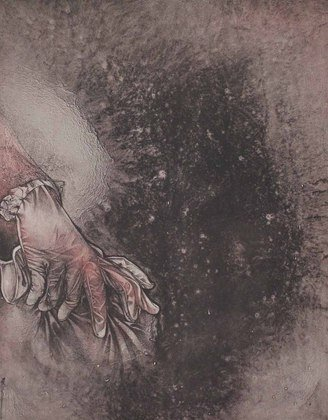 Germanposters Bruno Bruni Handschuh Grafik 66x50,5cm