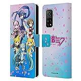Head Case Designs sous Licence Officielle Hatsune Miku Sakura Chanteurs virtuels Coque en Cuir à...