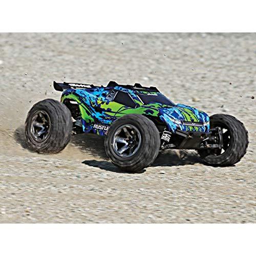 RC Auto kaufen Truggy Bild 4: Traxxas Rustler 4x4 VXL Brushless 1:10 RC Modellauto Elektro Truggy Allradantrieb (4WD) RTR 2,4 GHz*