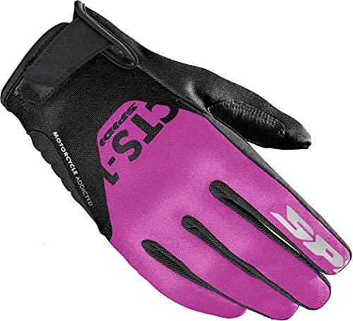 Spidi CTS-1 Damen Motorrad Handschuhe Schwarz/Pink XS