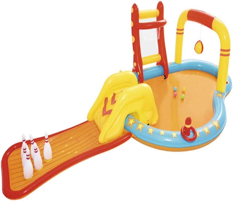 alta calidad FJIE Billar Inflable De Juegos Juegos Juegos De Bolos para Niños, Jugar Center, Billar para Niños - 425 X 213 X 117 Cm  precios bajos
