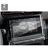 [Lot de 2 pièces] film de protection d'écran de navigation de 9,7 pouces pour Citroën C3 / C4 Cactus en PET transparent