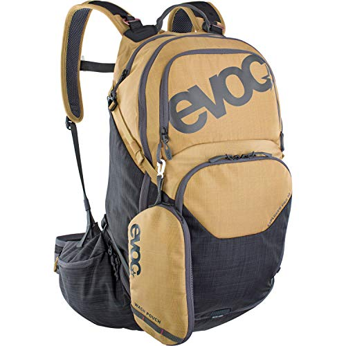 Evoc Explorer Pro: Mochila  30   Color Dorado y Gris