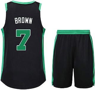 1c369385074e83 SDMH Boston Celtics 4 7 Isaiah/Thomas Uomo Maglia da Basket He Got Game  Maglia
