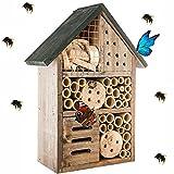 Générique Hôtel à Insectes - abri Refuge nichoir Maison Abeille Papillon coccinelles