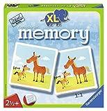 Ravensburger 21122 - Mein erstes XL Memory Tiere, der Spieleklassiker für die Kleinen, Kinderspiel für 2-4 Spieler ab 2 Jahren - William H. Hurter