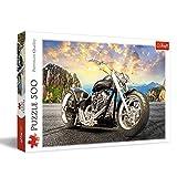 Trefl- Schwarzes Motorrad 500 Teile, Premium Quality, für Erwachsene und Kinder AB 10 Jahren Puzle, Multicolor (37384)
