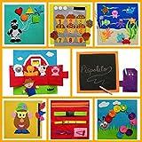 QUIET BOOK (18-36 meses) Libro sensorial, Montessori, juguete educativo, hecho a mano, estimulación, desarrollo sensorial, psicomotricidad, creatividad. Se personaliza con el nombre.