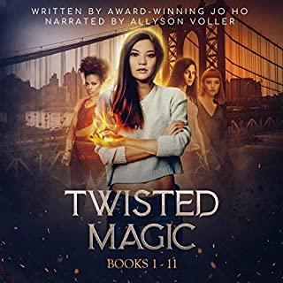 Twisted Magic, Volume 1: Twisted, Books 1-11                   By:                                                                                                                                 Jo Ho                               Narrated by:                                                                                                                                 Allyson Voller                      Length: 29 hrs and 46 mins     6 ratings     Overall 4.7