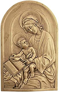 Design Toscano St. Anne, Patron Saint of Grandmothers Wall Sculpture