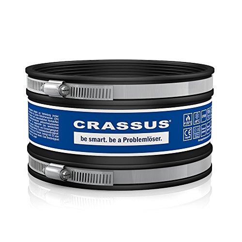 Crassus Schlauchadapter CDC 165 Typ 1, EPDM / V2A, 1 Stück, 150-165 mm, CRA14032
