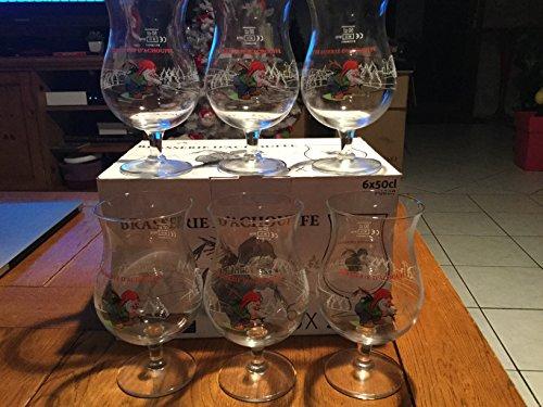 Achouffe Rare Boite de 6 Verre Brasserie d Chauffe en 50cl 50 cl Neuf