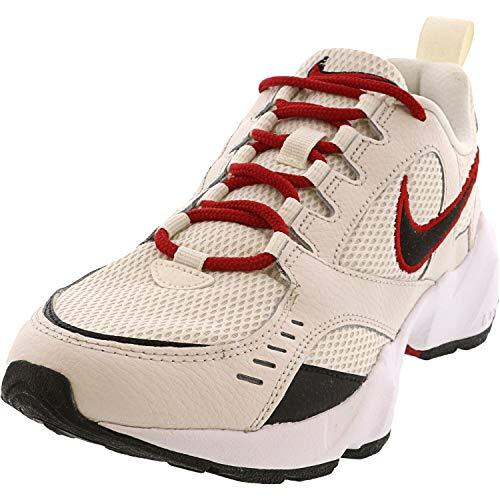 Nike Damen Air Heights Laufschuhe, Segel/Schwarz/Phantom/Gym Rot, 44 EU