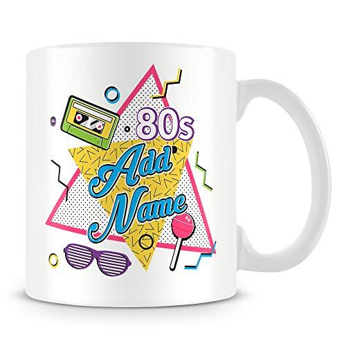 80s Mug - 1980s Personlised Mug - Customise with Name