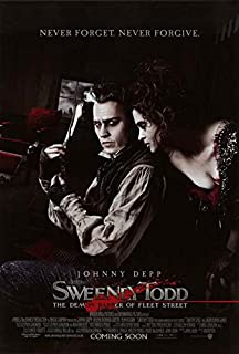 Sweeney Todd: The Demon Barber of Fleet Street POSTER Movie (27 x 40 Inches - 69cm x 102cm) (2007) (Style E)